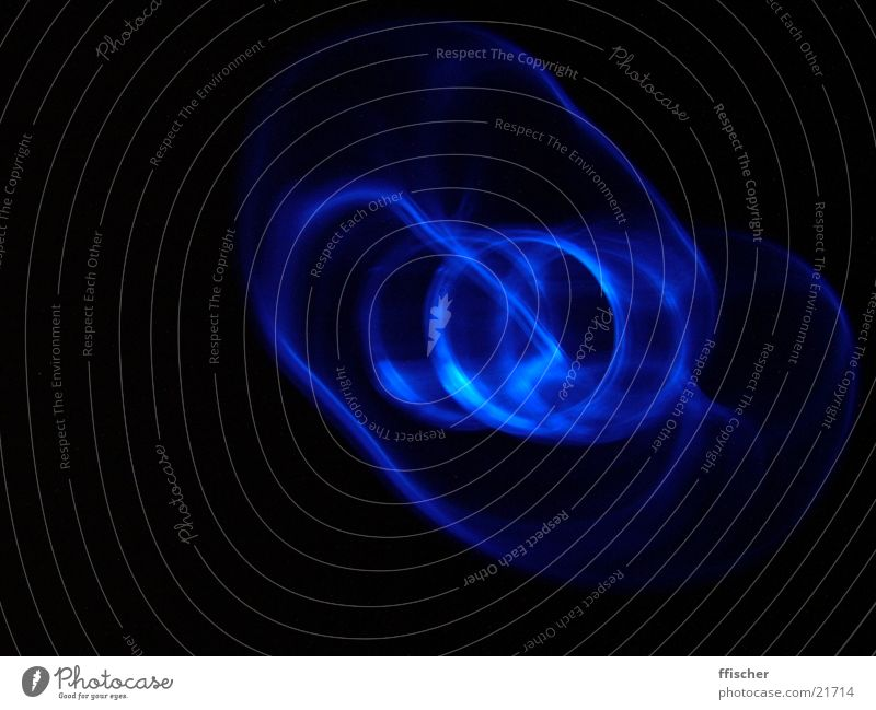 Blue Black Lamp Dark Waves Circle Technology Electrical equipment Modding