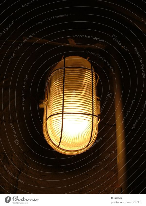 Cellar light II Light Dark Black Yellow Lamp Source Bright Industry