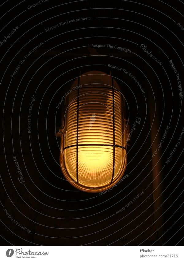 Cellar light I Light Dark Black Yellow Lamp Source Bright Industry