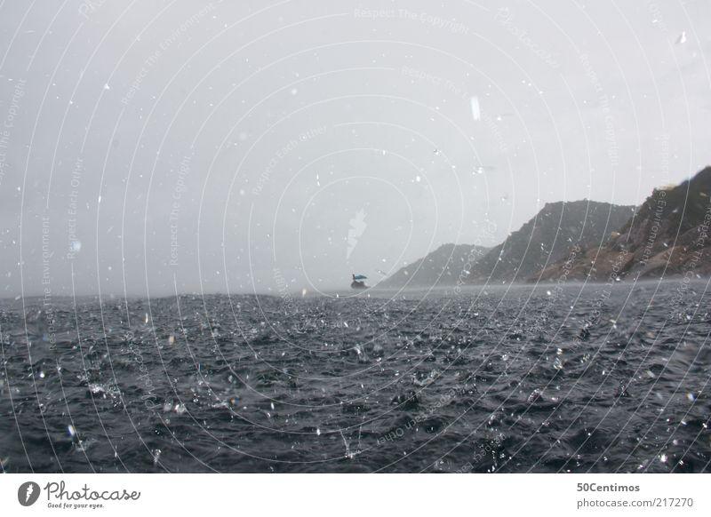 Sky Nature Blue Water Ocean Loneliness Cold Coast Freedom Moody Rain Fear Waves Wind Drops of water Dangerous