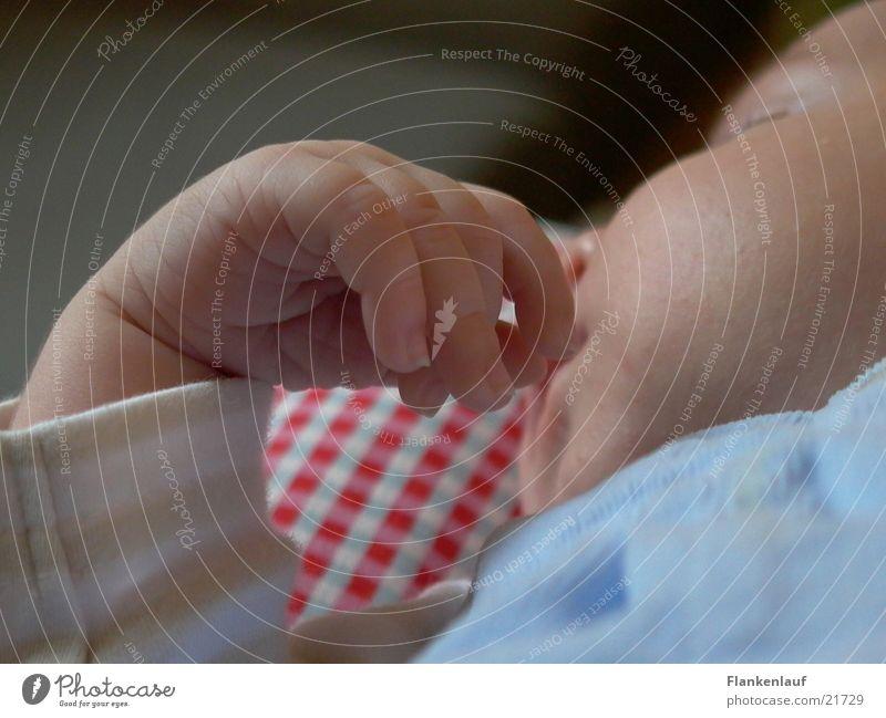 hand Baby Hand Sleep Child