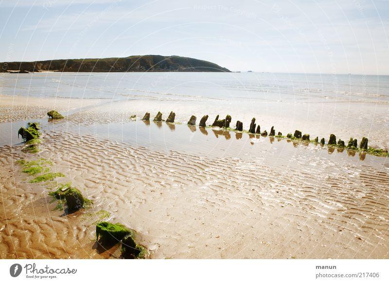 Nature Ocean Summer Beach Sand Landscape Coast Authentic Broken Bay Elements Wanderlust Remainder Decompose Fishing boat Wreck
