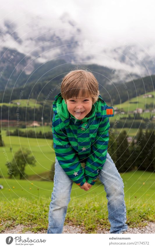 Child Human being Summer Green White Joy Forest Mountain Autumn Funny Natural Small Trip Masculine Free Fog