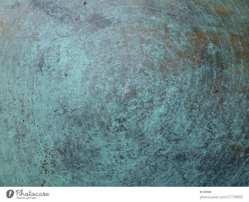 Patina Texture on Bronze 2 Style Design Art Environment Stone Metal Steel Rust Water Graffiti Line Trashy Blue Multicoloured Gold Green To console Calm Purity