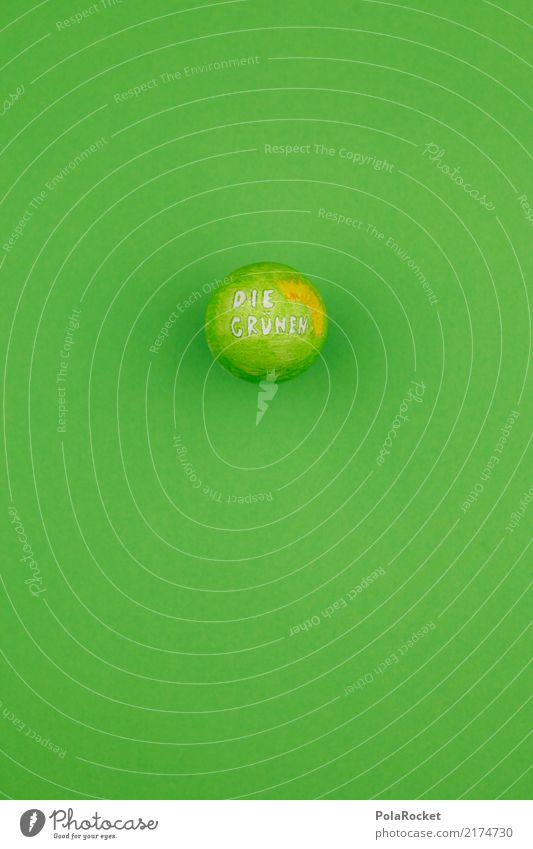 Green Art Esthetic Round Sphere Select Elections Logo Egg Federal elections Election campaign Alliance 90