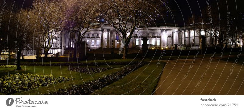 Liverpool Museum England Great Britain Panorama (View) Night Long exposure Architecture Large Panorama (Format)