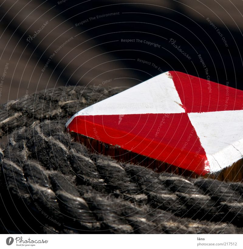 Old White Red Wood Signs and labeling Rope Safety Esthetic Firm String Sailing Historic Jetty Navigation Sharp-edged Sailing ship