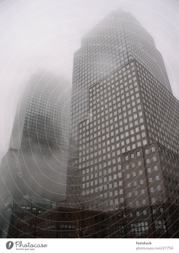 Architecture Fog High-rise New York City