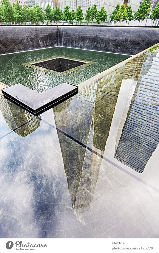 One World Trade Center 06 USA New York City Manhattan Landmark Tourist Attraction Terrorism Freedom High-rise Skyline Ground Zero