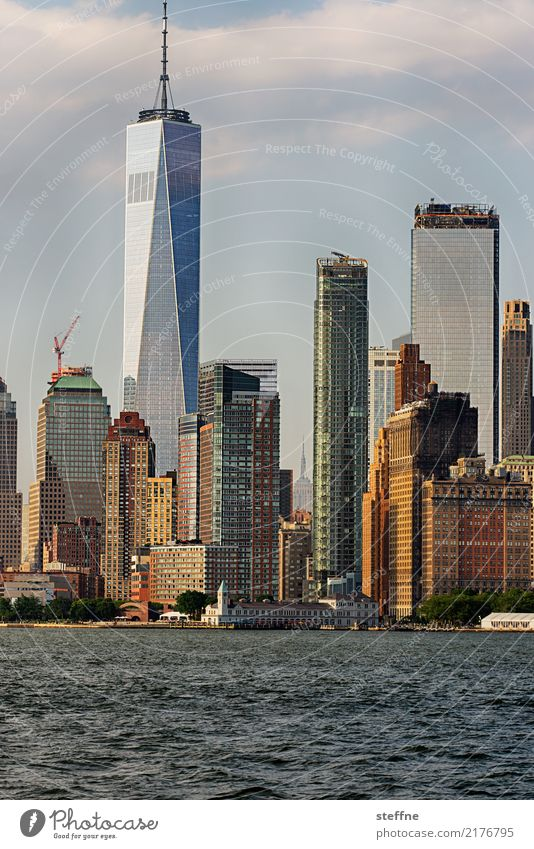 One World Trade Center 10 USA New York City Manhattan Landmark Tourist Attraction Terrorism Freedom High-rise Skyline