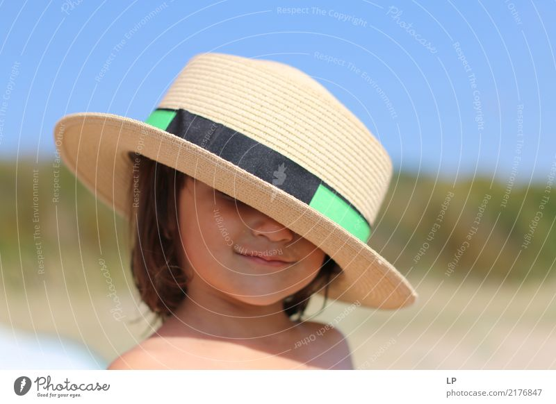 hat on your head 2 Lifestyle Elegant Style Leisure and hobbies Human being Feminine Child Baby Family & Relations Infancy Hat Beautiful Emotions Joy Happiness