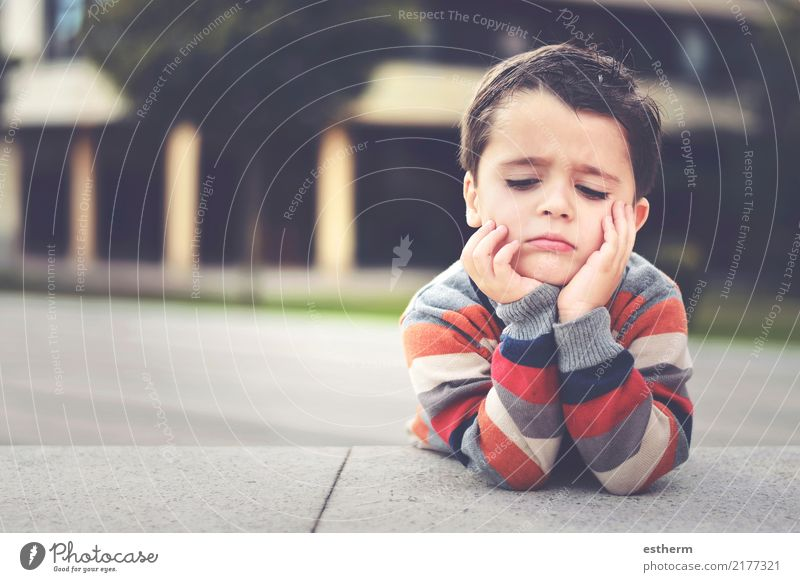 angry child Child Human being Loneliness Sadness Boy (child) Think Moody Masculine Dream Infancy Fitness Anger Toddler Boredom Concern Exhaustion