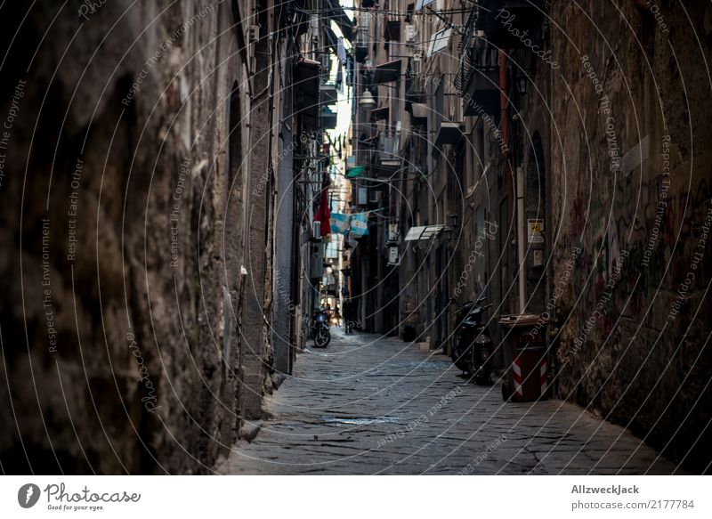 The streets of Naples 11 Colour photo Exterior shot Vacation & Travel Sightseeing City trip Summer vacation Lifestyle House (Residential Structure) Downtown