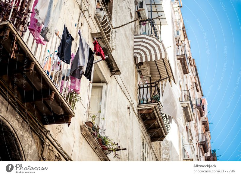 The streets of Naples 3 Colour photo Exterior shot Alley Street Vacation & Travel Sightseeing City trip Summer vacation Italy Lifestyle Beautiful weather