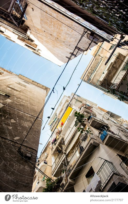 The streets of Naples 1 Colour photo Exterior shot Alley Street Vacation & Travel Sightseeing City trip Summer vacation Italy Lifestyle Beautiful weather
