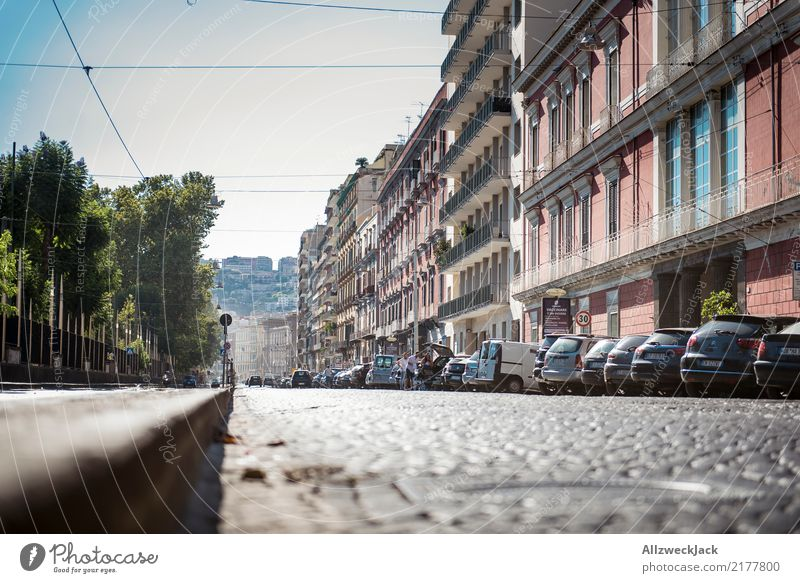 The streets of Naples 9 Colour photo Exterior shot Worm's-eye view Vacation & Travel Sightseeing City trip Summer vacation Lifestyle