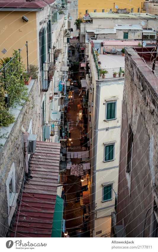 The streets of Naples 10 Colour photo Exterior shot Bird's-eye view Vacation & Travel Sightseeing City trip Summer vacation Lifestyle