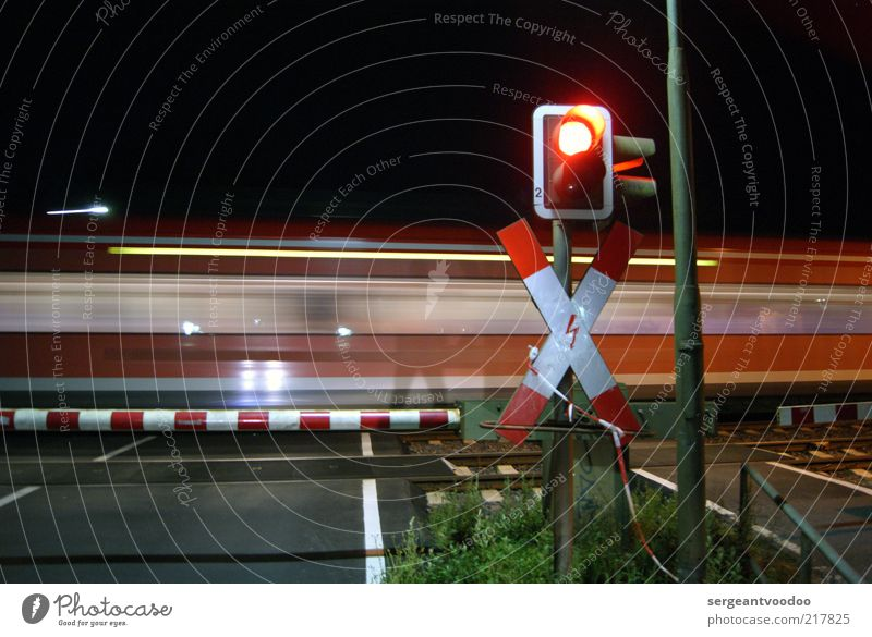 Far-off places Colour Dark Moody Power Wait Trip Energy Transport Railroad Speed Safety Target Crucifix Services Traffic infrastructure