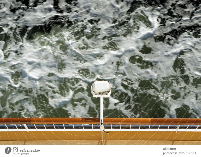 Nature Water Ocean Lamp Watercraft Waves Environment Natural Elements Navigation Baltic Sea Handrail Foam Ferry White crest Railing