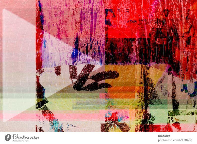 Old Poster Design - Collage Lifestyle Elegant Style Art Esthetic Authentic Exceptional Hip & trendy Historic Original Rebellious Retro Multicoloured