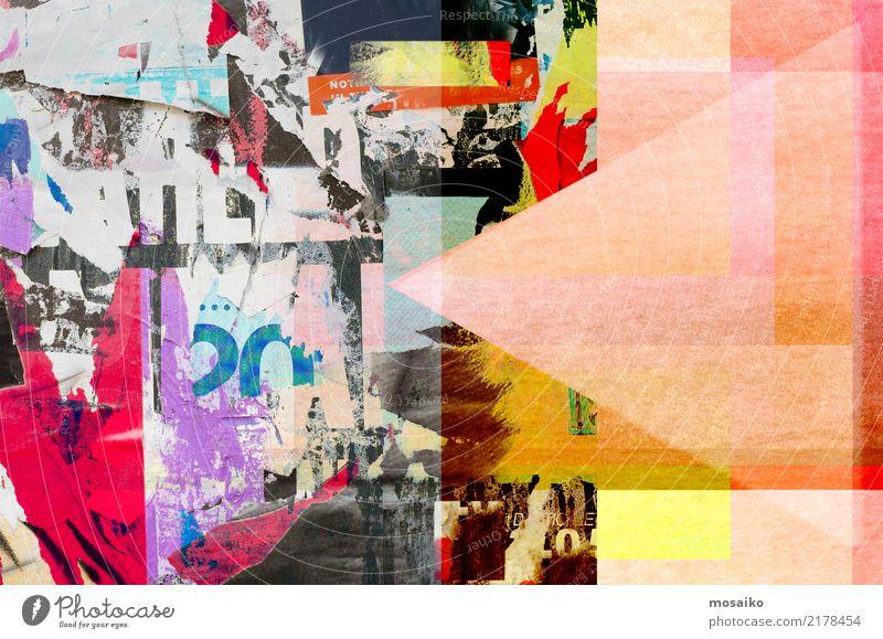 Old Poster Design - Collage Lifestyle Elegant Style Joy Art Esthetic Exceptional Hip & trendy Historic Original Rebellious Retro Multicoloured