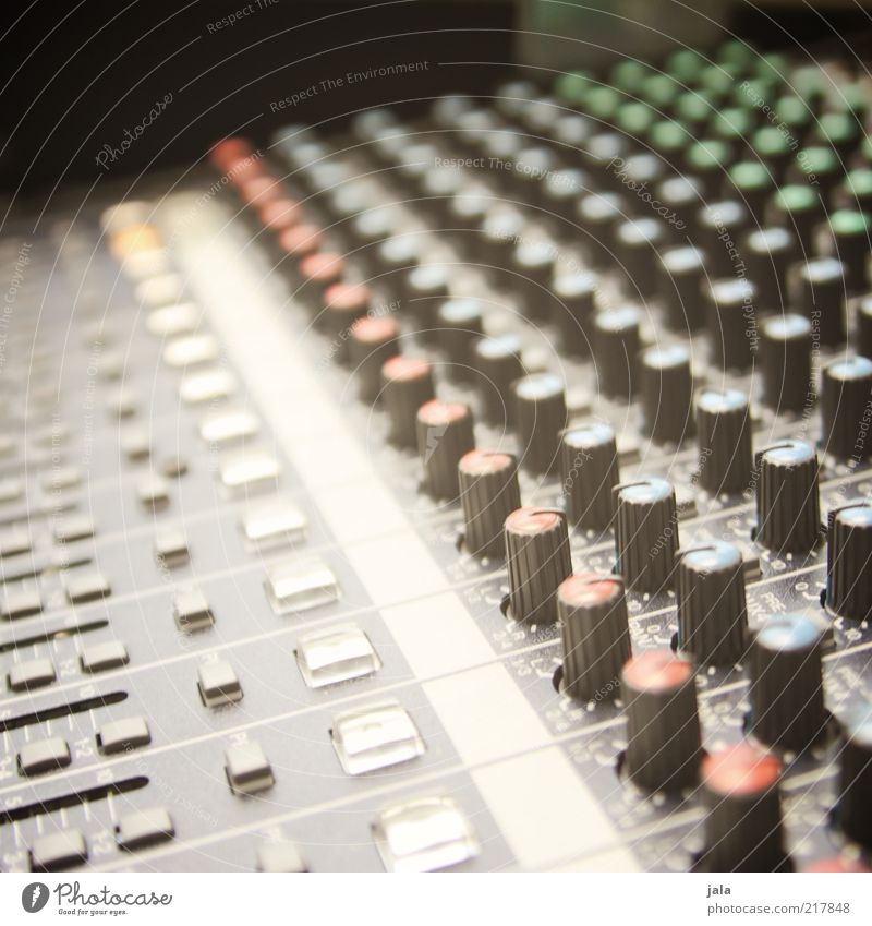 studio Entertainment Music Sound engineering Switch Rotary knob Technology Entertainment electronics Cool (slang) Mixing desk Rehearsal room Colour photo