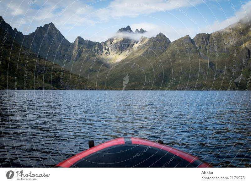 Off to new shores, paddling in Scandinavia Vacation & Travel Trip Adventure Far-off places Freedom Expedition Summer vacation Aquatics Landscape Elements Water
