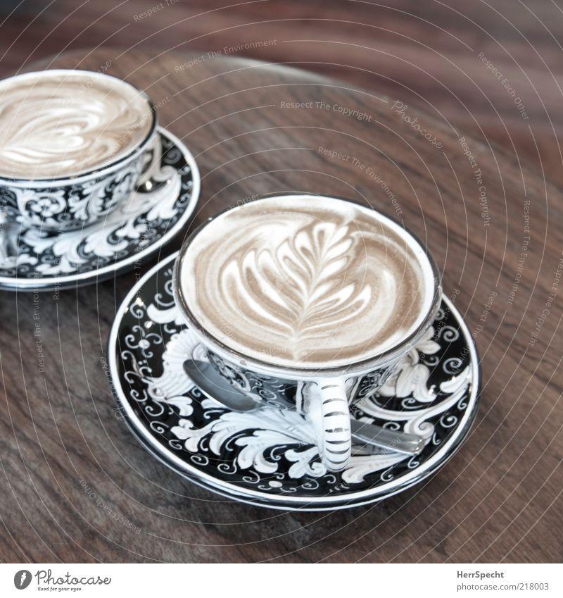 Black Wood Brown Art Beverage Coffee Decoration Café Crockery Cup Pattern Gastronomy Light Spoon Wood grain Cutlery
