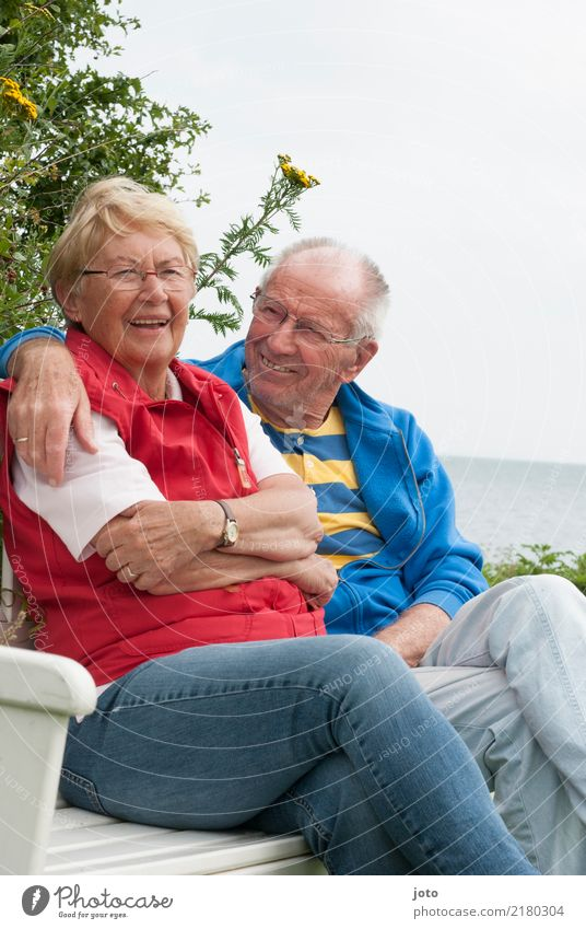 seniors Joy Happy Life Harmonious Well-being Contentment Vacation & Travel Summer vacation Valentine's Day Friendship Couple Partner Senior citizen 2