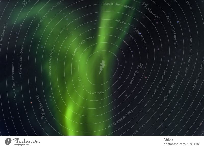 Strong northern lights Night sky Stars Climate Climate change Aurora Borealis Norway Esthetic Exceptional Exotic Fantastic Gigantic Glittering Infinity Green