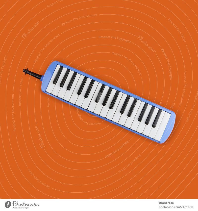 Lonely object nº 3 Blue Orange Music Cool (slang) Original Keyboard