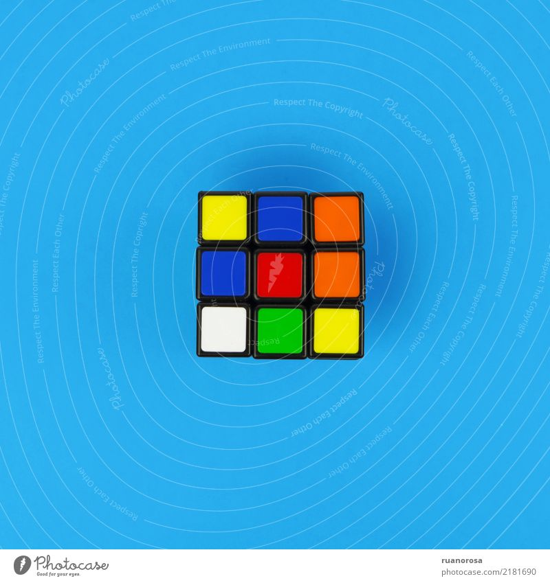 Lonely object nº 1 Blue Joy Funny Sports Esthetic Cool (slang) Plastic Toys Puzzle Nerdy