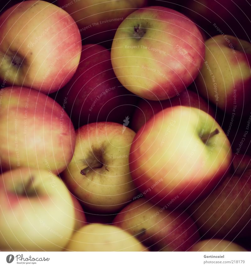 Red Nutrition Yellow Autumn Healthy Food Fruit Fresh Multiple Apple Delicious Many Vitamin Organic produce Agriculture Autumnal
