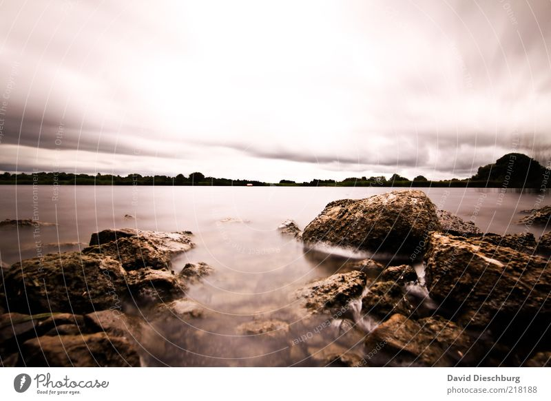 Sky Nature Water White Plant Clouds Landscape Autumn Stone Brown Rock Wind River Lakeside Storm Gale