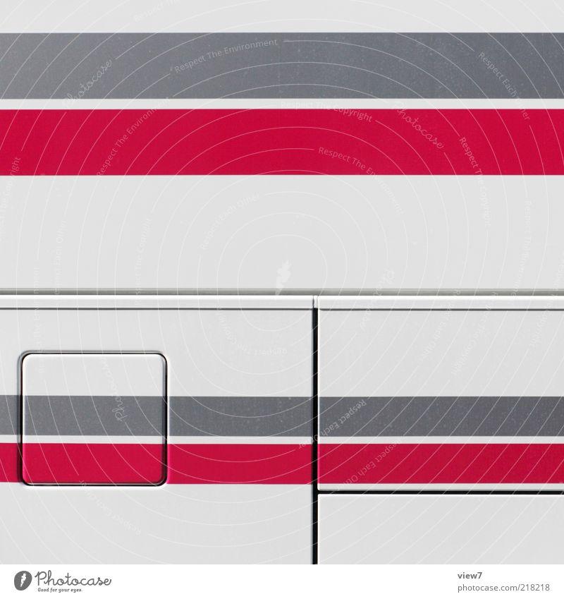 Red Colour Above Gray Metal Line Arrangement Free Esthetic Authentic Stripe Uniqueness Simple Pure Illustration Thin