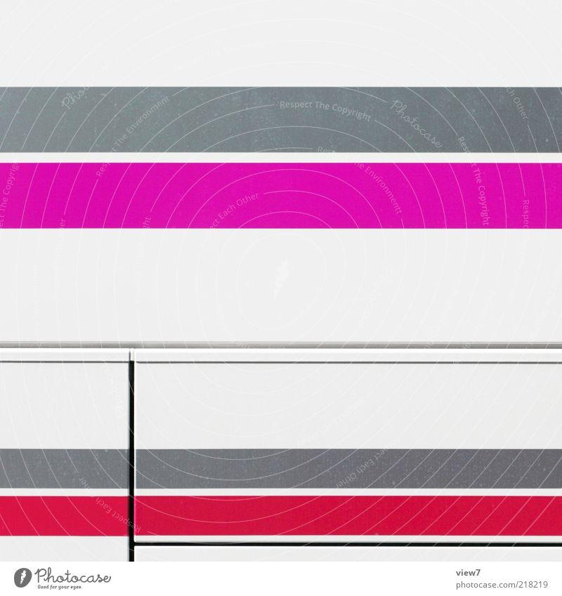 Red Colour Gray Line Metal Glittering Pink Elegant Modern Arrangement Esthetic Authentic Simple Thin Uniqueness Stripe