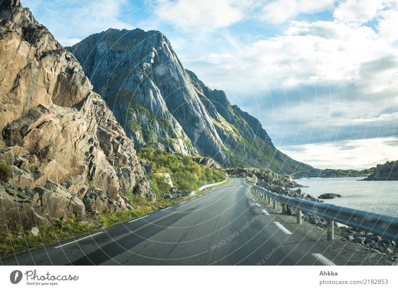Nature Vacation & Travel Ocean Far-off places Mountain Street Lanes & trails Coast Freedom Wild Horizon Authentic Adventure Beginning Beautiful weather