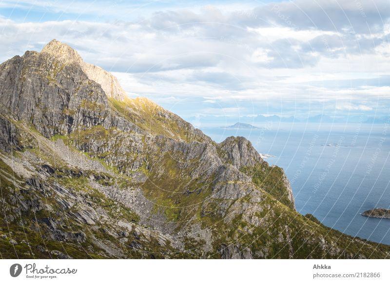 Sky Nature Vacation & Travel Landscape Ocean Loneliness Mountain Coast Freedom Trip Wild Horizon Hiking Illuminate Power Island