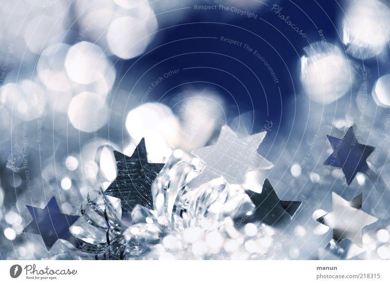 Christmas & Advent Beautiful Emotions Lifestyle Feasts & Celebrations Moody Design Glittering Illuminate Decoration Happiness Fantastic Star (Symbol) Sign Kitsch Anticipation