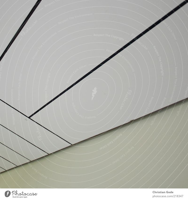 White Black Wood Building Line Corner Square Diagonal Ceiling Rectangle Part of a building