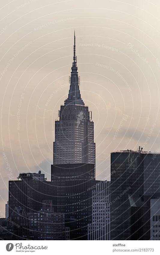 Summer City life High-rise USA Skyline Manhattan New York City Empire State building