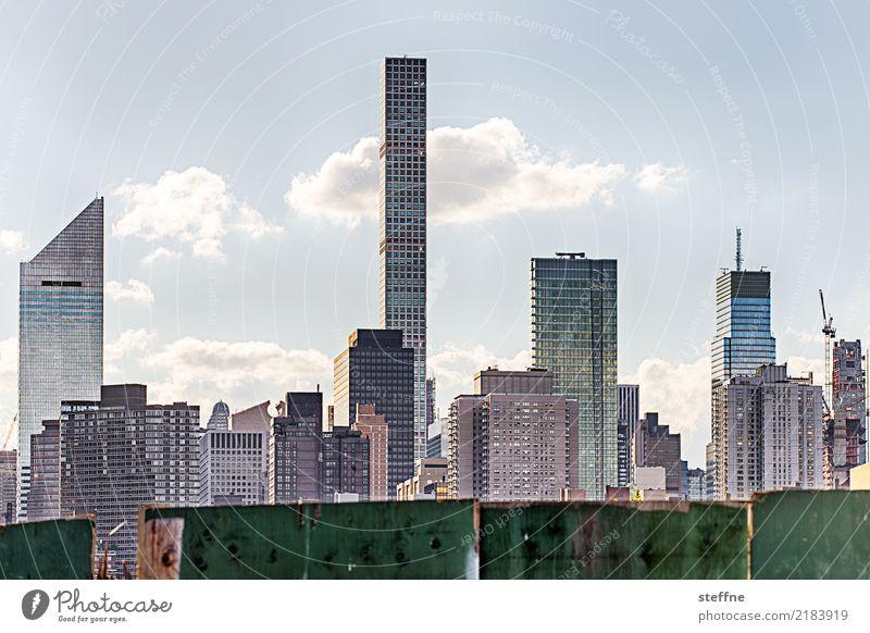Town Living or residing High-rise USA Skyline Landmark Manhattan New York City Overpopulated