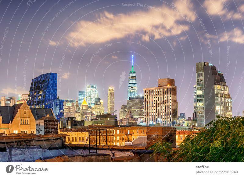 One World Trade Center 05 USA New York City Manhattan Landmark Tourist Attraction Terrorism Freedom High-rise Skyline Night