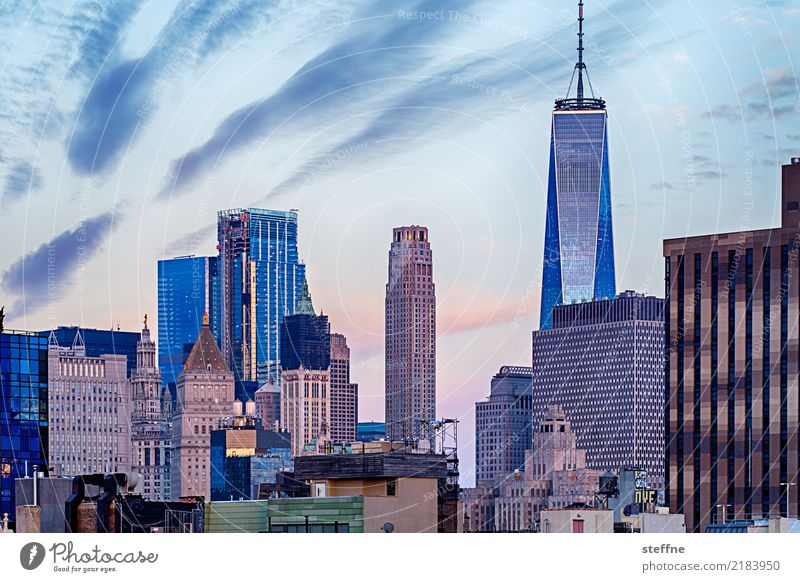 Freedom High-rise USA Tourist Attraction Skyline Landmark Manhattan New York City Terrorism World Trade Center One World Trade Center