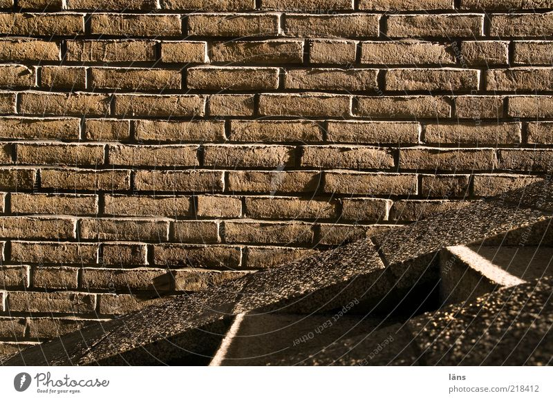 streaky Manmade structures Wall (barrier) Wall (building) Stairs Lanes & trails Stone Brick Brown Drop shadow Seam Colour photo Subdued colour Exterior shot