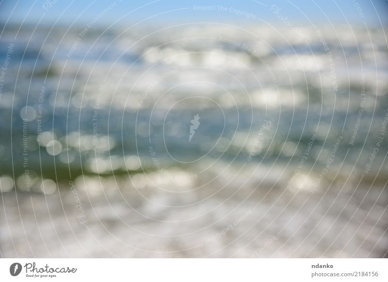 sea and sky Nature Landscape Sky Summer Vacation & Travel Blue Colour photo Exterior shot Deserted Day Blur