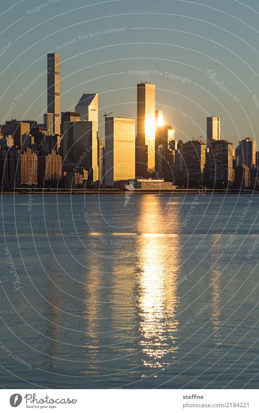 NYC3 New York City Skyline USA High-rise Town Manhattan Brooklyn Sunrise Upper East Side district East River