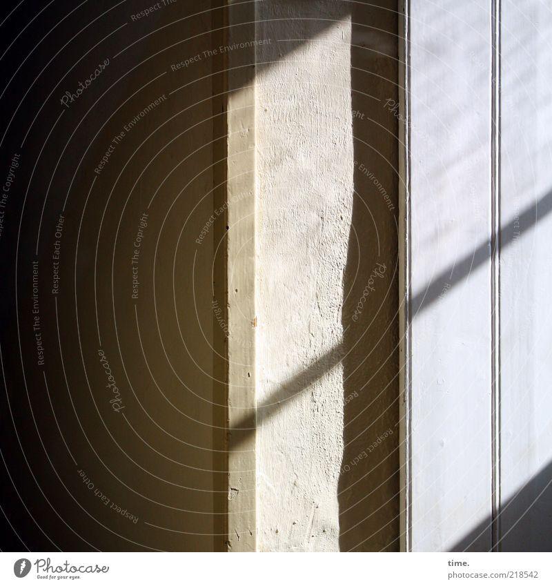 Dark Wall (building) Window Interior design Hallway Diagonal