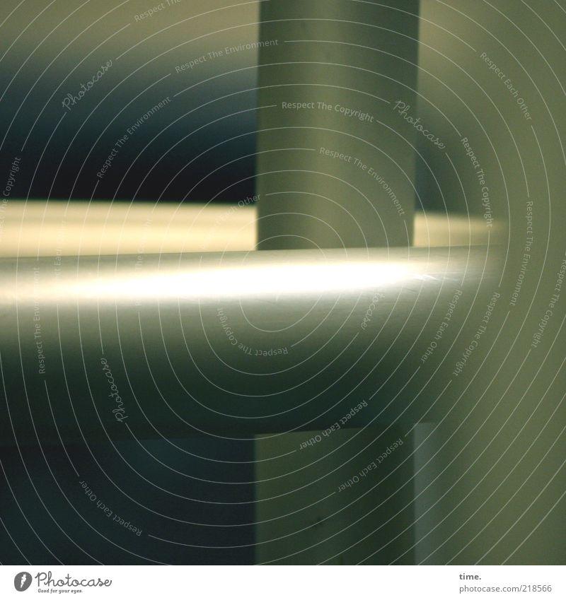 Gray Glittering Round Pipe Rod