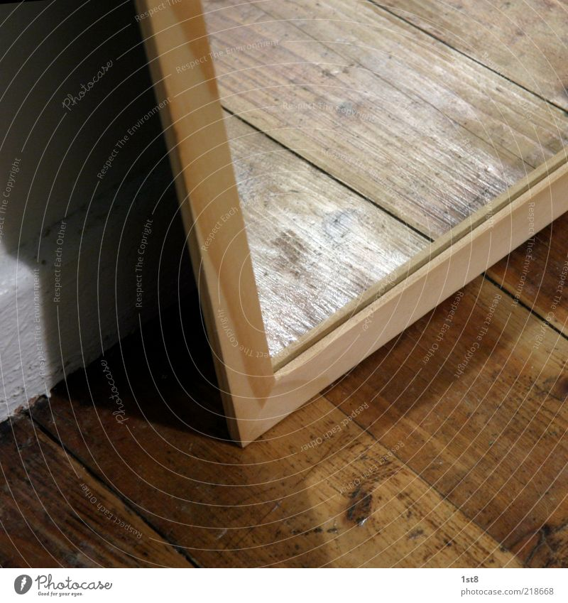 White New Floor covering Living or residing Mirror Wooden board Wood Parquet floor Visual spectacle Mirror image Wood grain Light Wood strip Floorboards
